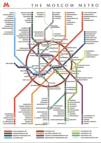К схеме метро - официальный